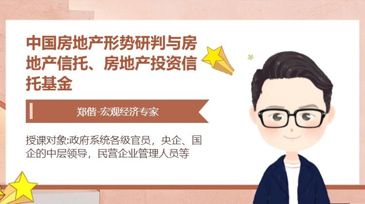 中国房地产形势研判与房地产信托、房地产投资信托基金